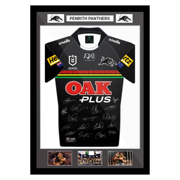 2021 Framed and Signed ANZAC Jersey0