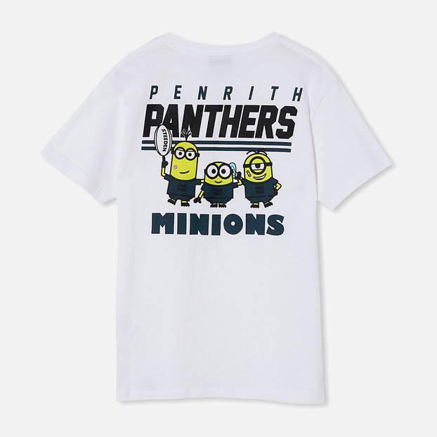 Panthers Kids Minion Tee3