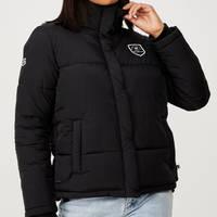 Panthers Ladies Puffa Jacket1