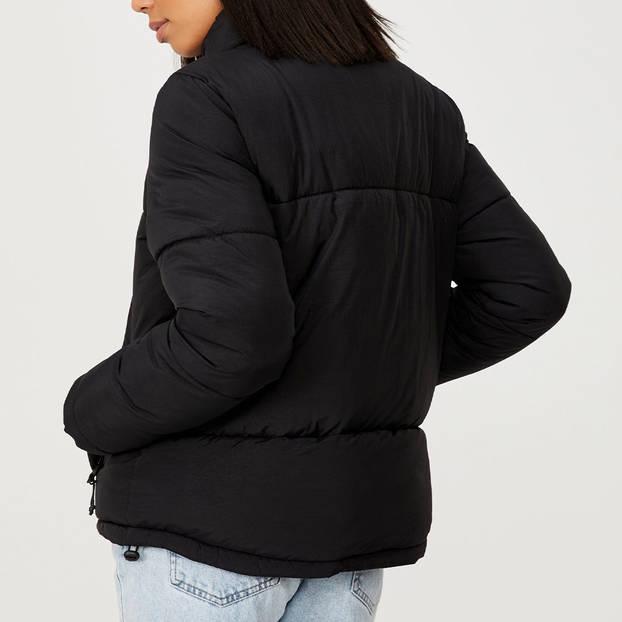 Panthers Ladies Puffa Jacket2