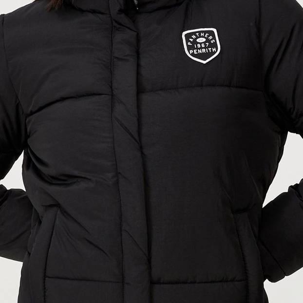 Panthers Ladies Puffa Jacket3