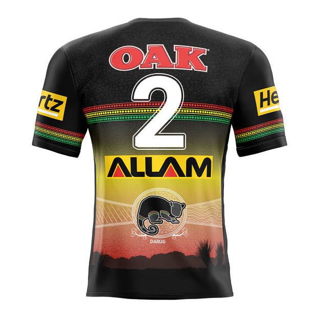 main2. Charlie Staines, Match-Worn Indigenous Jersey2