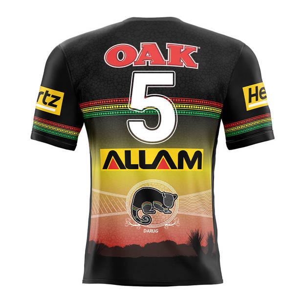 main5. Brian To'o, Match-Worn Indigenous Jersey2