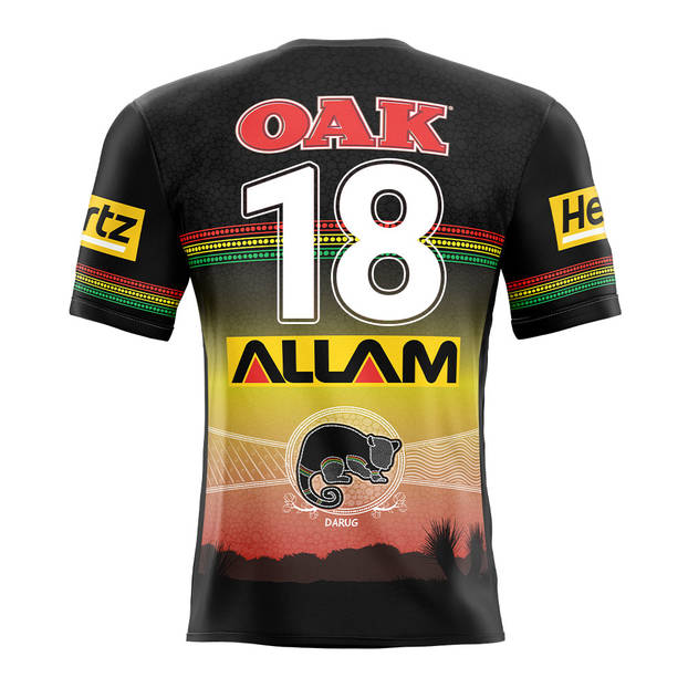 main18. Mitch Kenny, Match-Issued Indigenous Jersey1