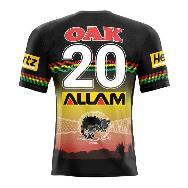 main20. Lindsay Smith, Match-Issued Indigenous Jersey1