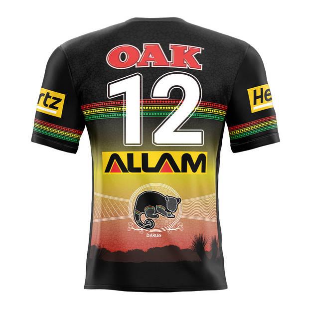 main12. Liam Martin, Match-Worn Indigenous Jersey3
