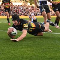 4. Matt Burton, Match-Worn Indigenous Jersey0