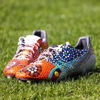 Viliame Kikau's Signed Match Boots0