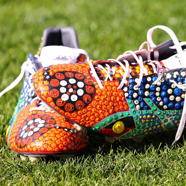 mainViliame Kikau's Signed Match Boots1