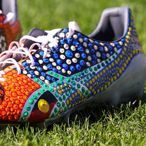 mainViliame Kikau's Signed Match Boots3