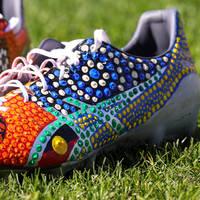 Viliame Kikau's Signed Match Boots3
