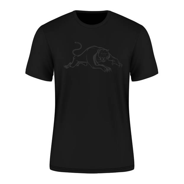 2021 Panthers Adult Black Tee0