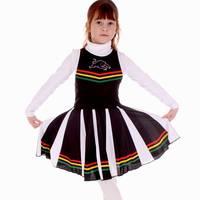 Panthers Girl's Cheerleader Dress1