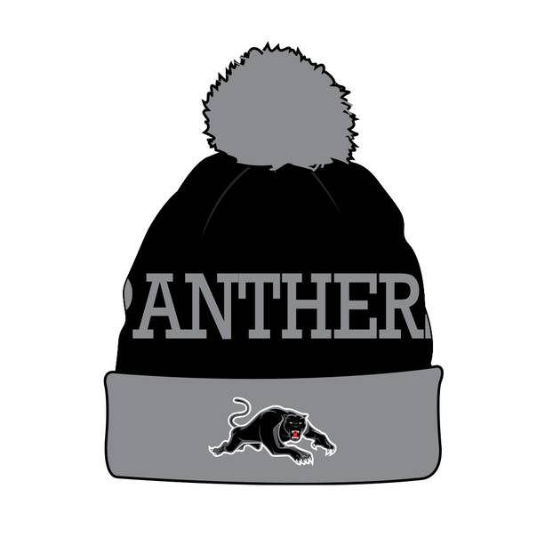 Panthers Youth Beanie0