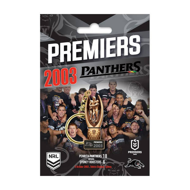 Penrith Panthers Premiers 2003 Trophy Keyring0