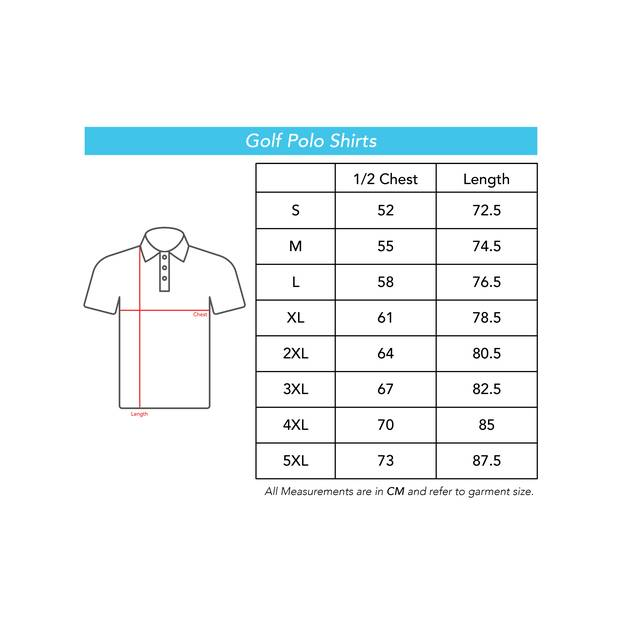 Panthers Mens Fairway Golf Polos2