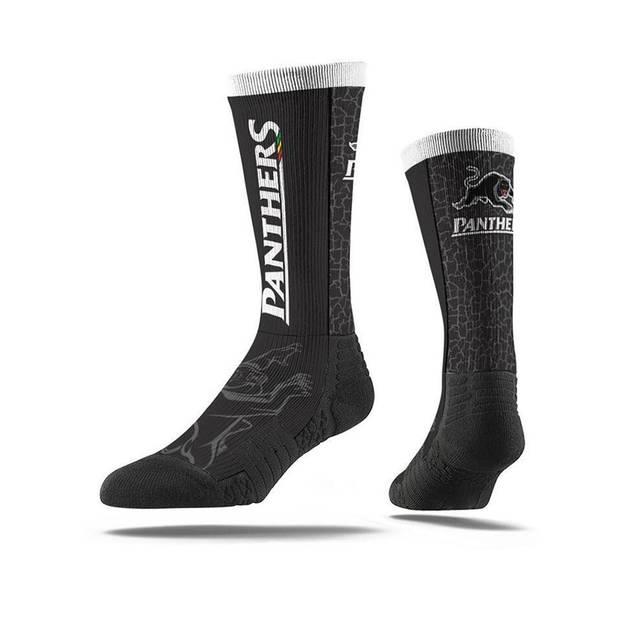 Panthers Wordmark Socks0