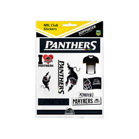 PANTHERS STICKER SHEET