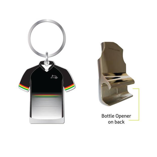 Panthers Jersey Bottle Opener Keyring1