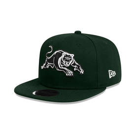 NEW ERA PANTHERS DARK GREEN SNAPBACK
