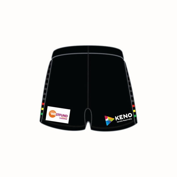 2019 PANTHERS REPLICA HOME  SHORTS1
