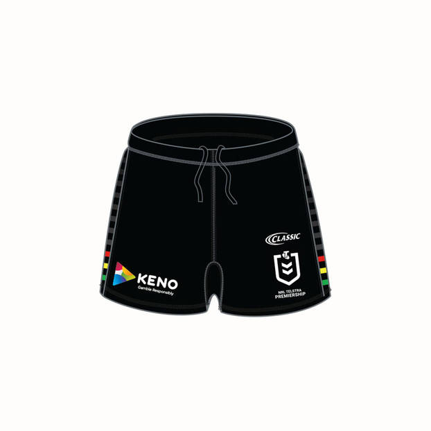 2019 PANTHERS REPLICA HOME  SHORTS0