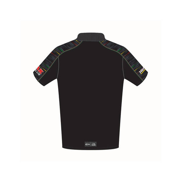 2019 PANTHERS YOUTH  BLACK MEDIA POLO1