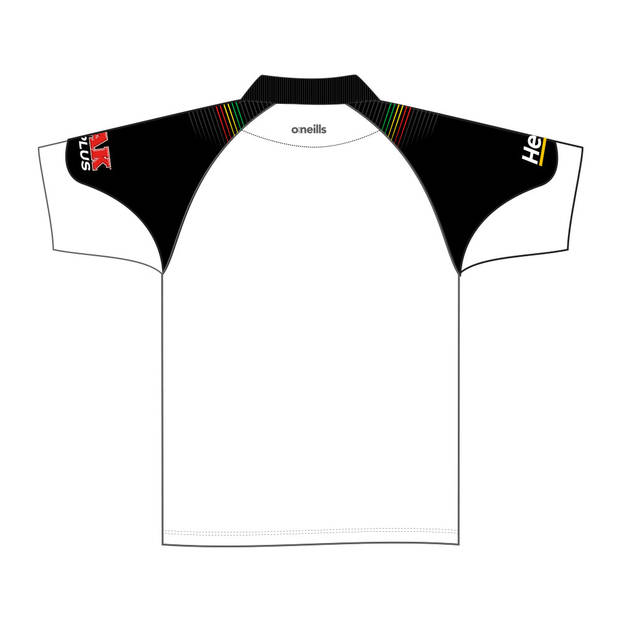 2020 Panthers Ladies White Media Polo2