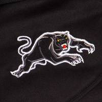 2020 Panthers Youth Black Media Polo2