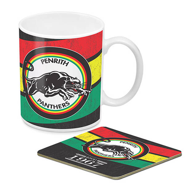Panthers Heritage Mug & Coaster Pack0